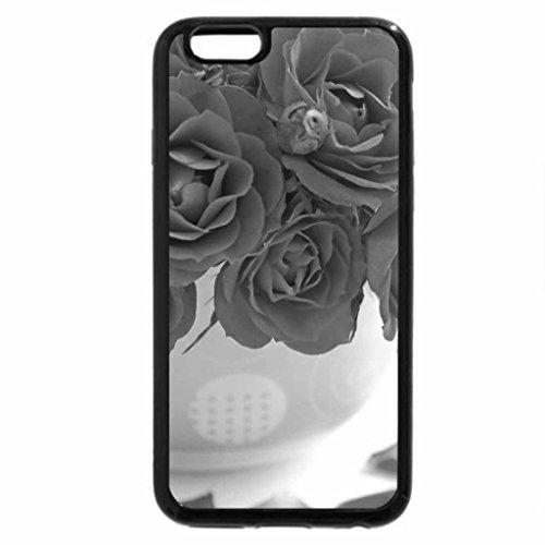 iPhone 6S Plus Case, iPhone 6 Plus Case (Black & White) - Roses for Andonia