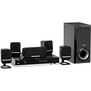 home theater dvd. rca rtd217 5-disc dvd/cd home theater system (discontinued by manufacturer) dvd