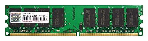 Transcend Memory 2GB DDR2 667 Mhz (pc 5300) Non-ecc Non-Registered Dimm, 240 -