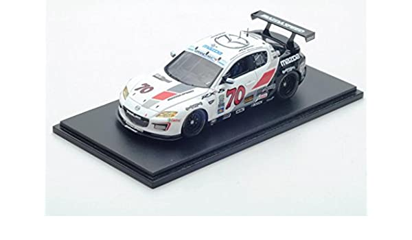 Amazon.com: [Limited 300 units Special specification] 1/43 model car Mazda RX-8 Gurandamu GT 2012 years Daytona 24 hours competed car # 70: Toys & Games