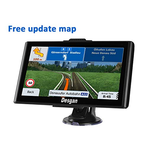 GPS Navigation for Car,7in 8GB HD GPS Navigator,Voice Broadcast Function, Driving Alarm,FM Transmission Function& Free Update Map