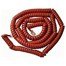 ICC GCHA444025-FCR / 25' RED Handset Cord