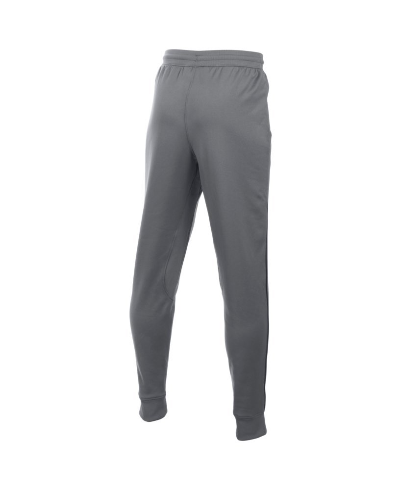 Under Armour Boys' Pennant Tapered Pant, Graphite/Fuel Green, Youth Small by Under Armour (Image #2)