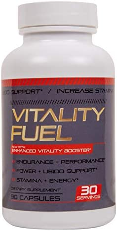 Vitality Fuel – Test Boost Advanced Dietary Supplement – Male Enhancement Formula – Powerful Stamina, Strength, Energy Endurance Supplement Supports Healthy Test Training Natural T Levels 90 Caps