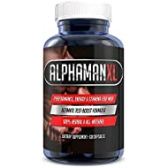 AlphaMAN XL Male Pills | - Enlargement Booster Increases Energy, Mood & Endurance | Best Performance Supplement for Men - 1 Month Supply, 60 Capsules