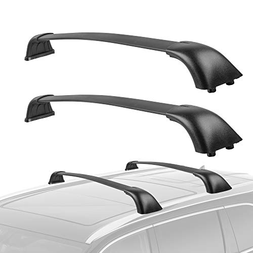 MOSTPLUS Roof Rack Cross Bar Compatible for Toyota Highlander 2014 2015 2016 2017 2018 2019 Only fit XLE & Limited & SE Models