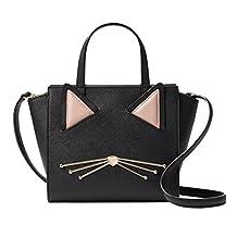 Kate Spade Cat Mini Hayden Jazz Things Up Crossbody Handbag Black
