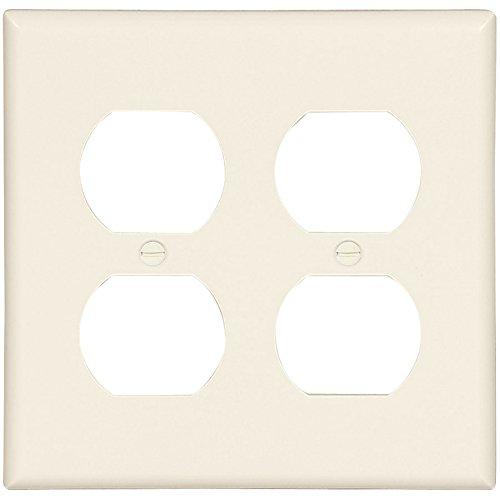 COOPER WIRING 2150LA-BOX WALLPLATE DPLX 2G Pack of ()