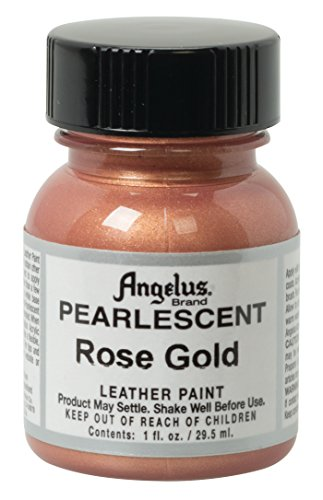 Angelus Pearlescent Leather Paint, Rose Gold, 1 - Direct Shift Boot