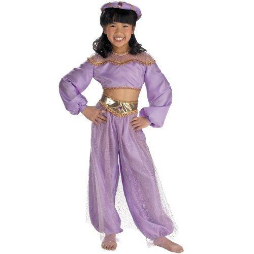 Childs Jasmine Prestige Costume, Girls Small (Size 4-6X) (39-50 lbs) (42-48 inches)]()