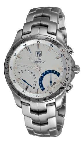 TAG Heuer Men s CJF7111.BA0592 Link Calibre S Chronograph Silver Dial Watch