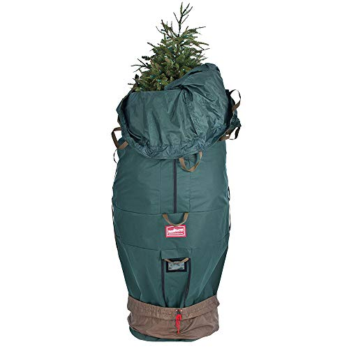 [Upright Tree Storage Bag] - 9 Foot Christmas Tree Storage Bag | Hold Your Artificial Trees up to 9 Feet Tall - Keep Your Fake Tree Assembled | Hides Under Tree Skirt (9' - XLarge/Bag Only)