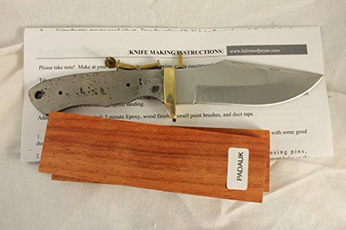 8 INCH foxhunter knife kit / DIY KNIFE KIT / PAYNE BROS (PADAUK)