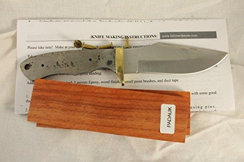 8 INCH foxhunter knife kit / DIY KNIFE KIT / PAYNE BROS (PADAUK)