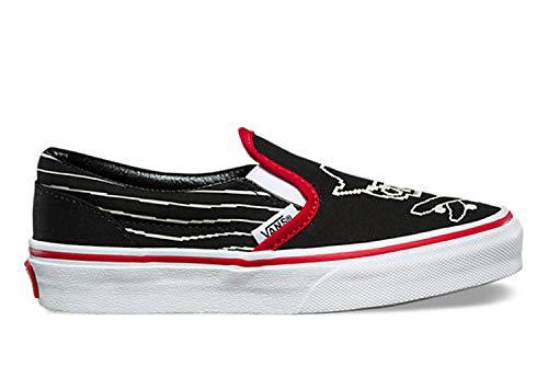 (Pixel Pirate) Black/Racing Red/True White Kids 2.5 ()