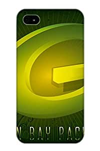 New Green Bay Packers Tpu Case Cover, Anti-scratch MuQGrA-1060-lGsGS Phone Case For Iphone 4/4s With Design