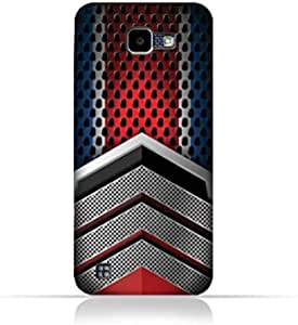 LG K4 2016 TPU Silicone Case with Geometric Mesh Pattern Design