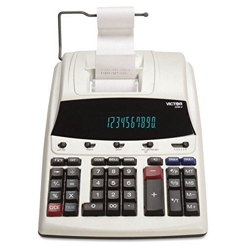 VCT12304 - Victor 1230-4 12 Digit Commercial Printing Calculator