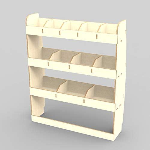 Citroen Dispatch MWB 2016 Tool Rack Racking Storage System NS Rear Lightweight Plywood Van Shelving