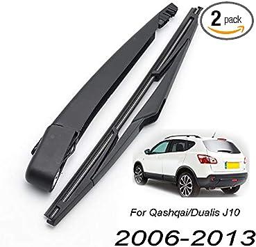 XUKEY Tailgate Rear Windshield Wiper Arm Blade Set For Porsche Cayenne MK1 02-10