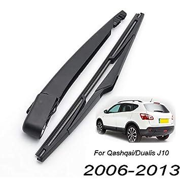 Xukey - Juego de limpiaparabrisas trasero y brazo para Qashqai J10 2007 2008 2009 2010 2011 2012 2013 (1 juego): Amazon.es: Coche y moto