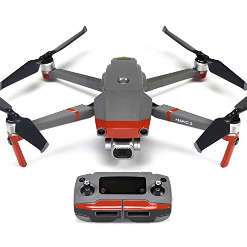 Wrapgrade Poly Skin for DJI Mavic 2 | Accent Color (Super RED)