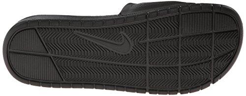 Nike Benassi Solarsoft Slide, Zapatillas de Baloncesto para Hombre Negro (Black / Black-Dark Grey)