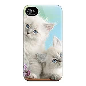New Cute Funny Blue Eyes And Blossoms Case Cover/ Iphone 5/5s Case Cover by icecream design
