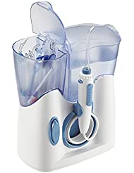 H2ofloss Water Dental Flosser 800ml Capacity With 12 Multifunctional Tips Countertop Dental Oral Irrigator FDA Approved (hf-8whisper)