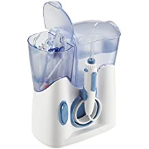 H2ofloss Water Dental Flosser 800ml Capacity With 12 Multifunctional Tips Countertop Dental Oral Irrigator FDA Approved