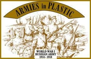 Russian Army 1914-1918 (20) 1/32 Armies in Plastic from Armies in Plastic