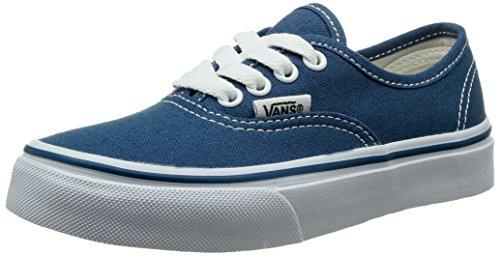 Vans K Authentic, Baskets mode mixte enfant Bleu (Navy/True White)