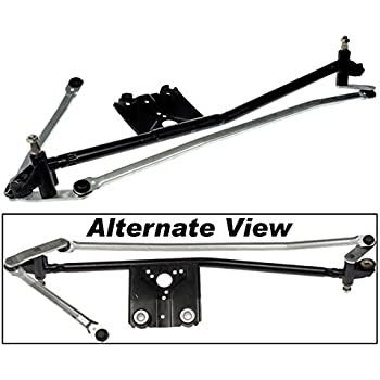 Front Replaces Ford 7U2Z-17566-A, 7U2Z17566A APDTY 713423 Windshield Wiper Transmission Metal Linkage Assembly Fits 1995-2003 Ford Windstar