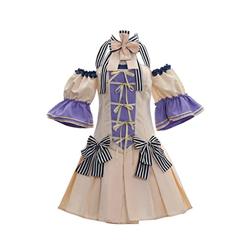 CosplayDiy Women's Dress For Love Live Cosplay Wedding Costume Dress M by CosplayDiy