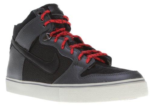 Nike 6.0 Dunk High Lr Ws Sko Antrasitt / Granitt / Universitets Rød / Svart Menns Sz 9