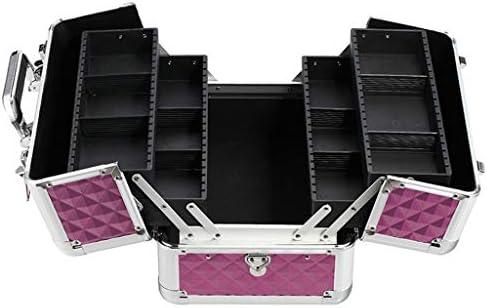 HLD 多機能のプロフェッショナルツールボックスの訪問美容まつげマニキュアペットトリマーポータブルボックス ツールボックス (Color : C)