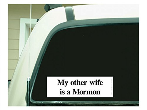 Image result for mormon bumper stickers