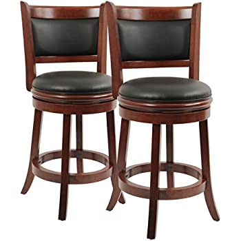 Boraam 9824 Augusta Counter Height Swivel Stool 24-Inch Cherry 2-  sc 1 st  Amazon.com & Amazon.com: Hillsdale Jefferson 24-Inch Swivel Counter Stool with ... islam-shia.org