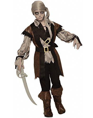 Forum Novelties 80395 Pirate Zombie Child's Costume, Medium -