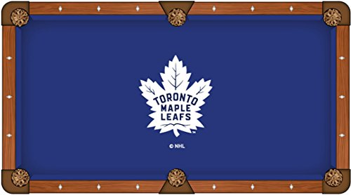 NHL 8ft Pool Table Cloth by Holland Bar Stool - Toronto Maple Leafs ()