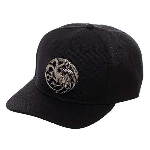 Game of Thrones House Stark Targaryen Adjustable Baseball Cap (Targaryen)