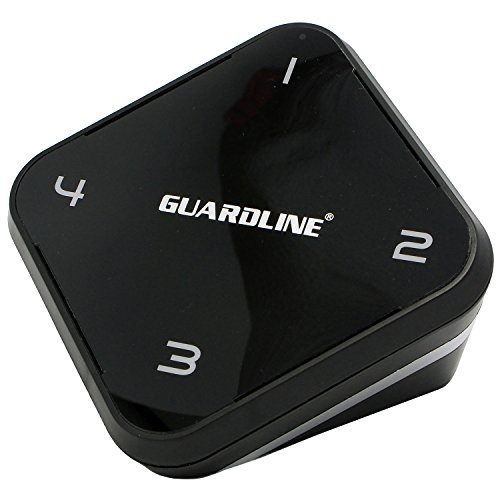 Extra Receiver for 1/4 Mile Long Range Driveway Alarm by Guardline by Guardline