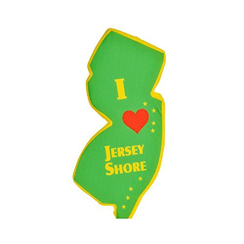 15'' I Love Jersey Shore Plush State by Bargain World