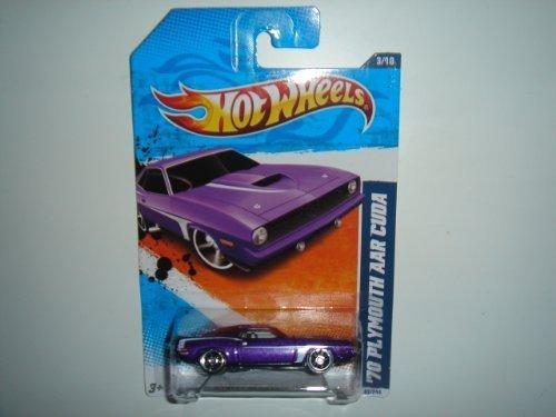 2011 Hot Wheels ''70 Plymouth AAR Cuda Purple #83/244