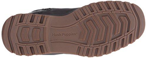 Hush Puppies GUNNER ABBOTT / BLACK LEATHER WP Black 4F62HGld