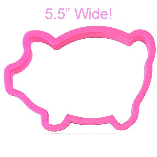Marranitos Pig Cookie Cutter 5.5 in
