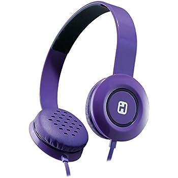 iHome Stereo Headphones with Flat Cable - Purple (IB35UBC)