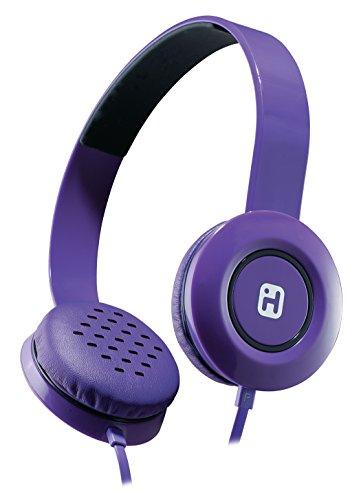 iHome Stereo Headphones Purple IB35UBC