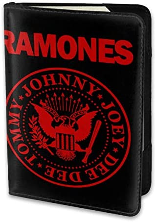 Ramonesラモーンズ パスポートケース パスポートカバー メンズ レディース パスポートバッグ ポーチ 携帯便利 シンプル 収納カバー PUレザー収納抜群 携帯便利 海外旅行 出張 小型 軽便