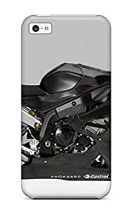 New Style Protective Tpu Case With Fashion Design For Iphone 5c (bmw S 1000 Rr Black) 9580633K70398851